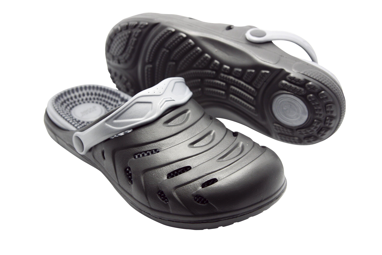 """Größe: 42 """"happy® shoes Clogs Massage-Wohlfühl-Schuh schwarz Wohlfühl-Clogs"""