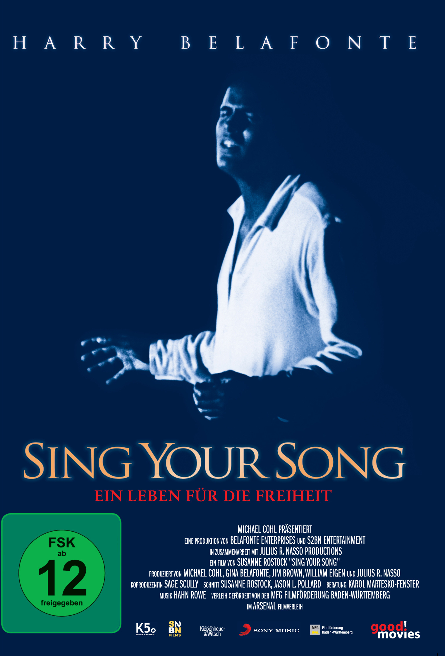 Image of Harry Belafonte: Sing Your Song