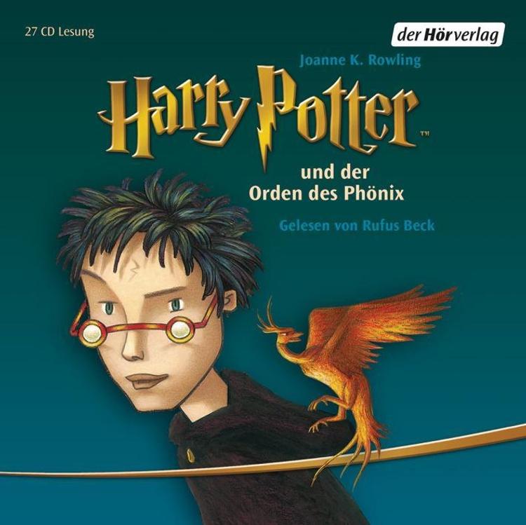 Harry Potter 5 Harry Potter Und Der Orden Des Phonix Horbuch