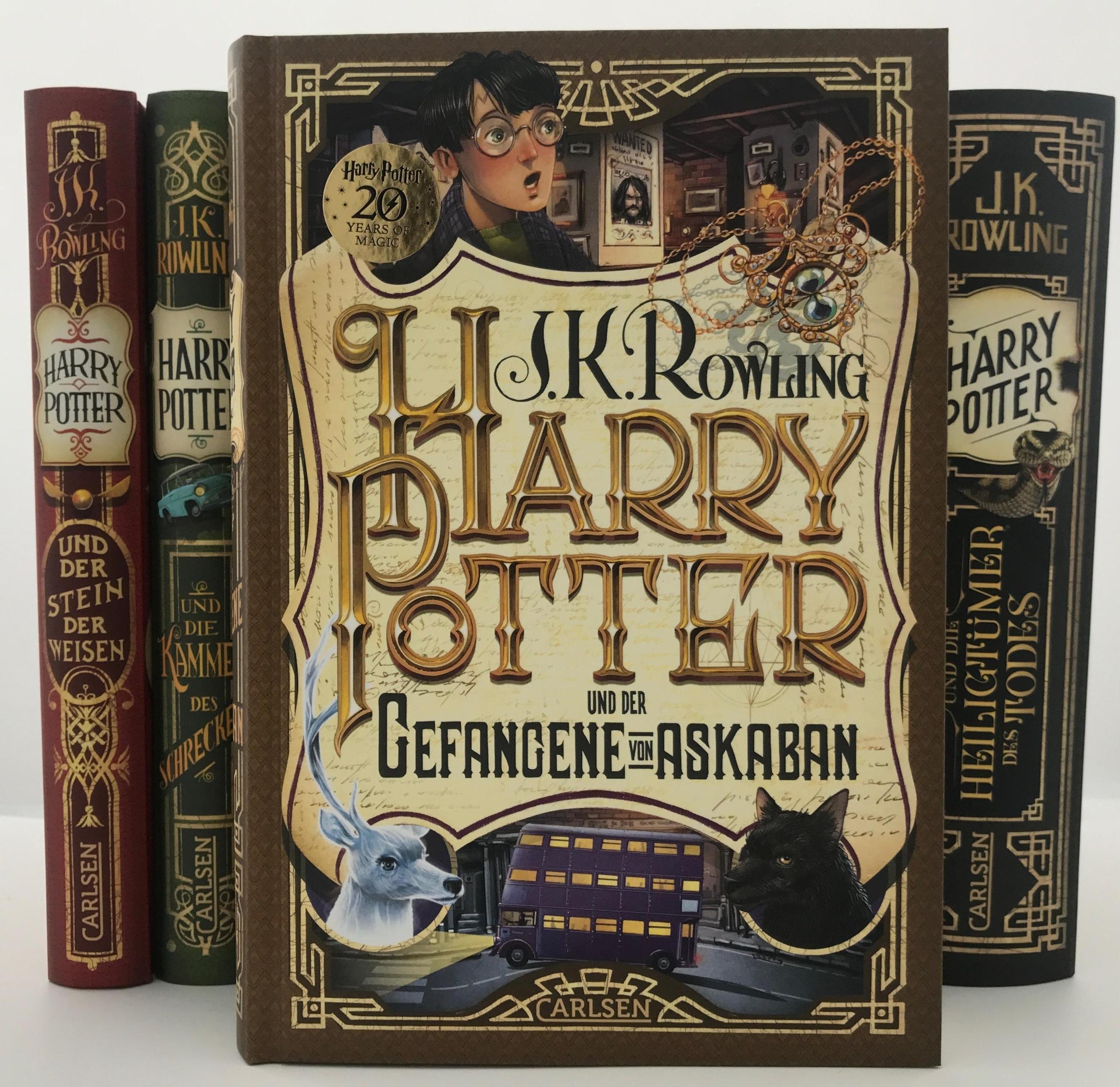 Harry Potter Und Der Gefangene Von Askaban Harry Potter Jubilaum Bd 3 Buch