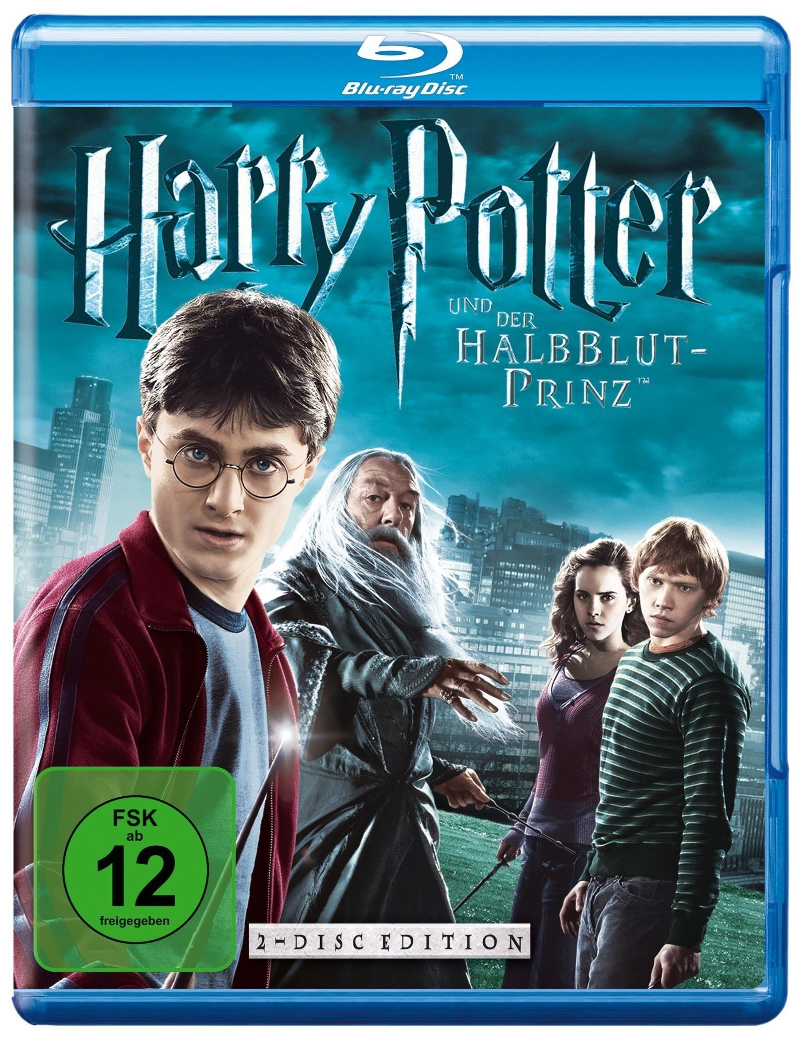 Harry Potter Und Der Halbblutprinz Teil 6 Blu Ray Weltbild De