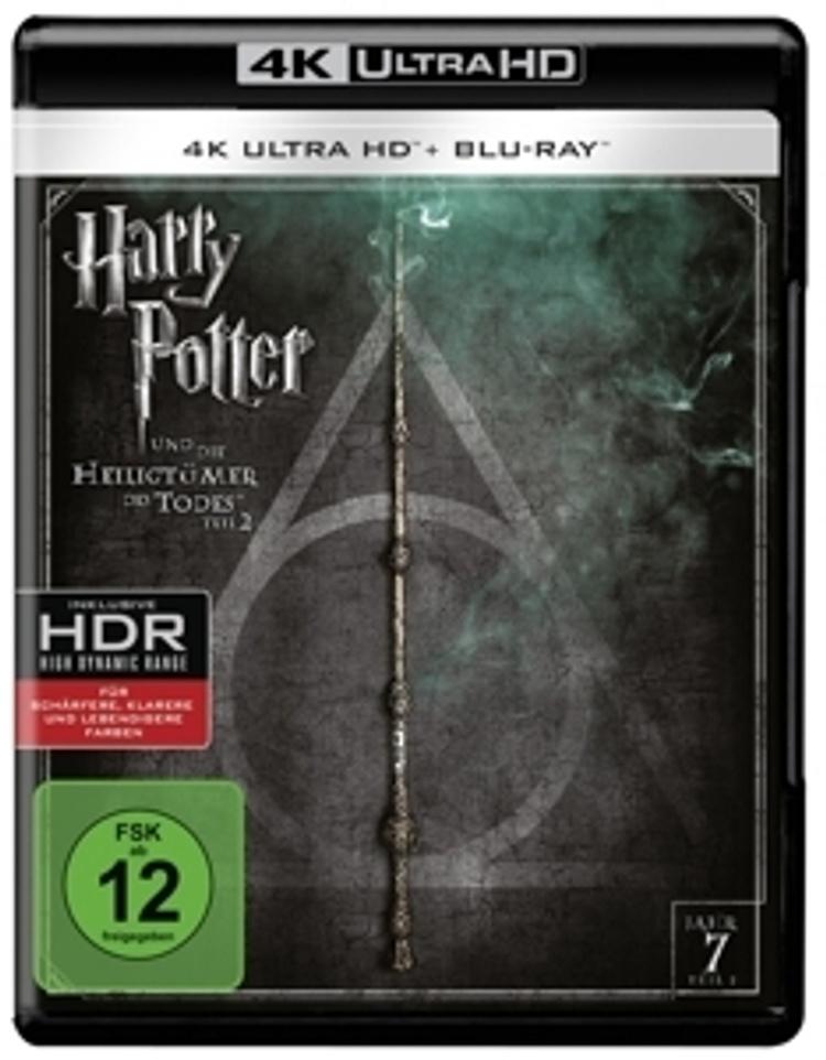 Harry Potter Und Die Heiligtumer Des Todes Teil 2 4k Ultra Hd Film Weltbild De