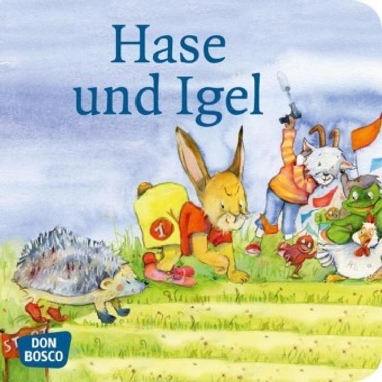 Hase und Igel, Mini-Bilderbuch Buch bei Weltbild.de bestellen