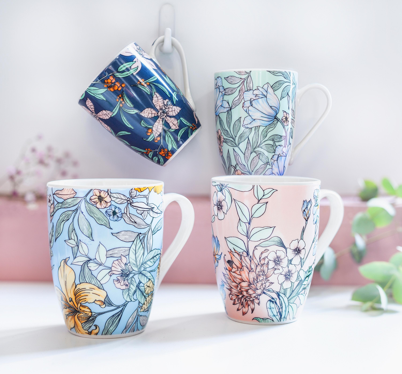 4er Set Klassisch London Design Esstisch Matte Tee Kaffeetasse Untersetzer