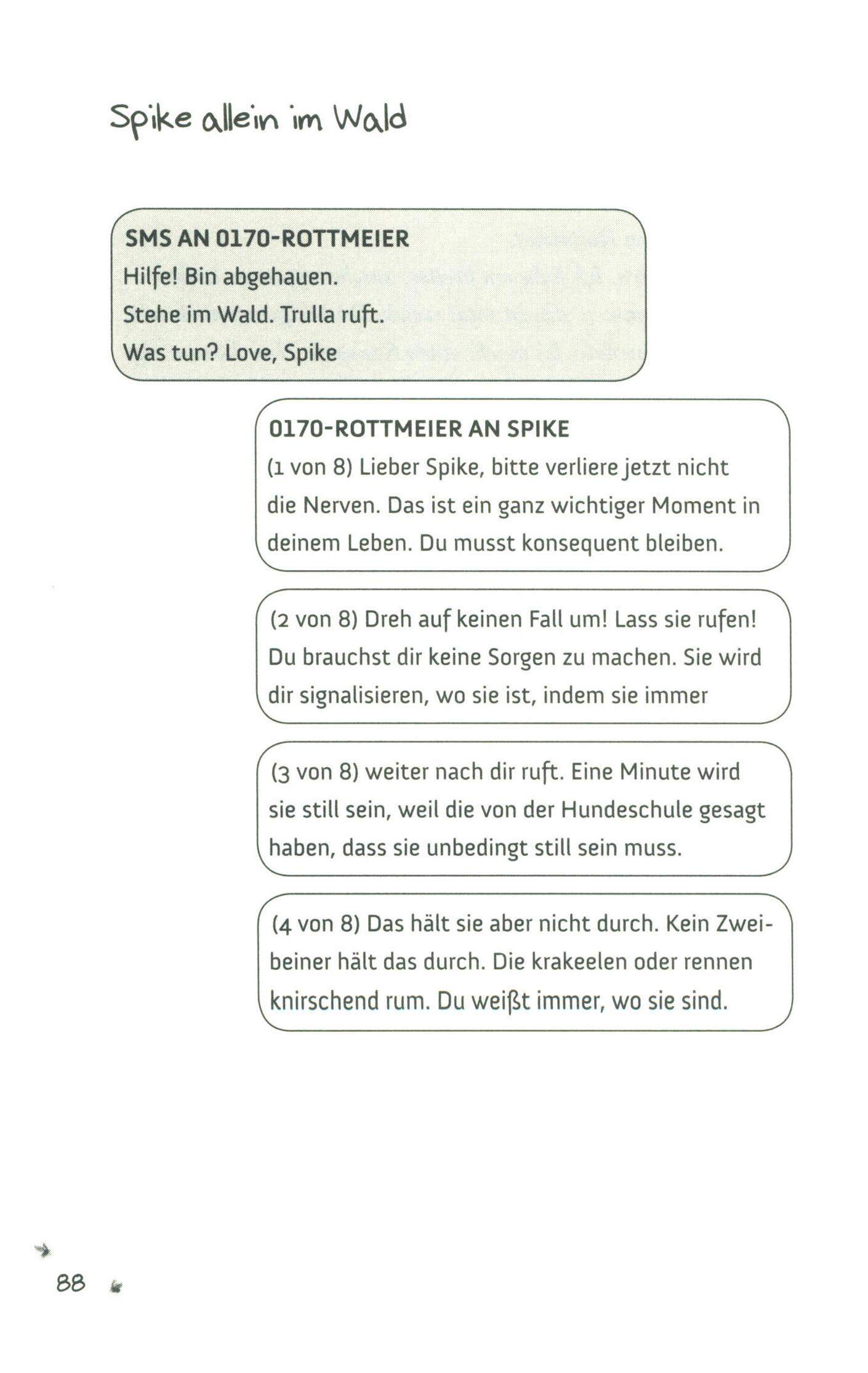 Text einen mann brauchst du luise Anna Luise