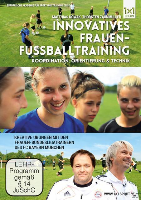 Image of Innovatives Frauen-Fußballtraining