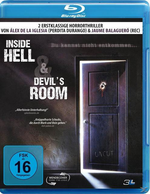 Image of Inside Hell & Devils Room - 2 Disc Bluray