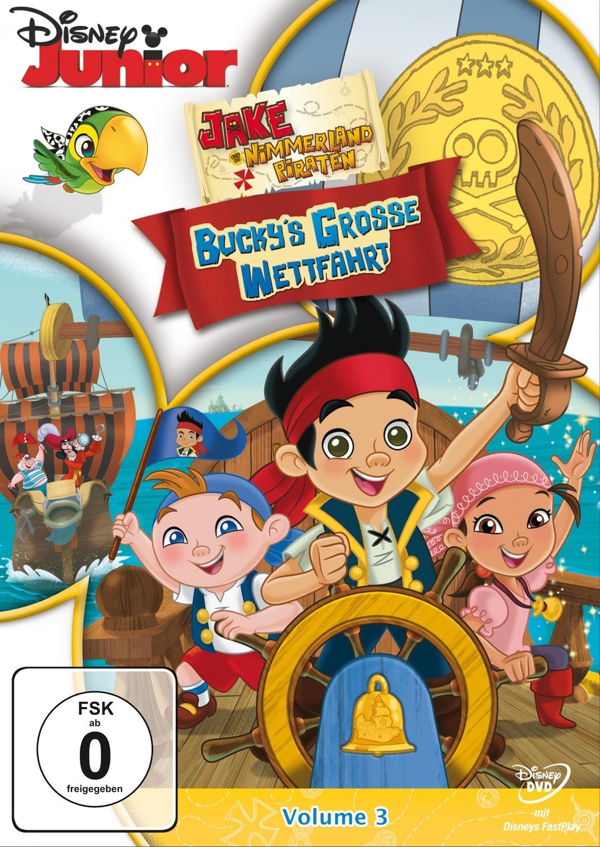 jake und die nimmerland piraten  bucky's grosse wettfahrt