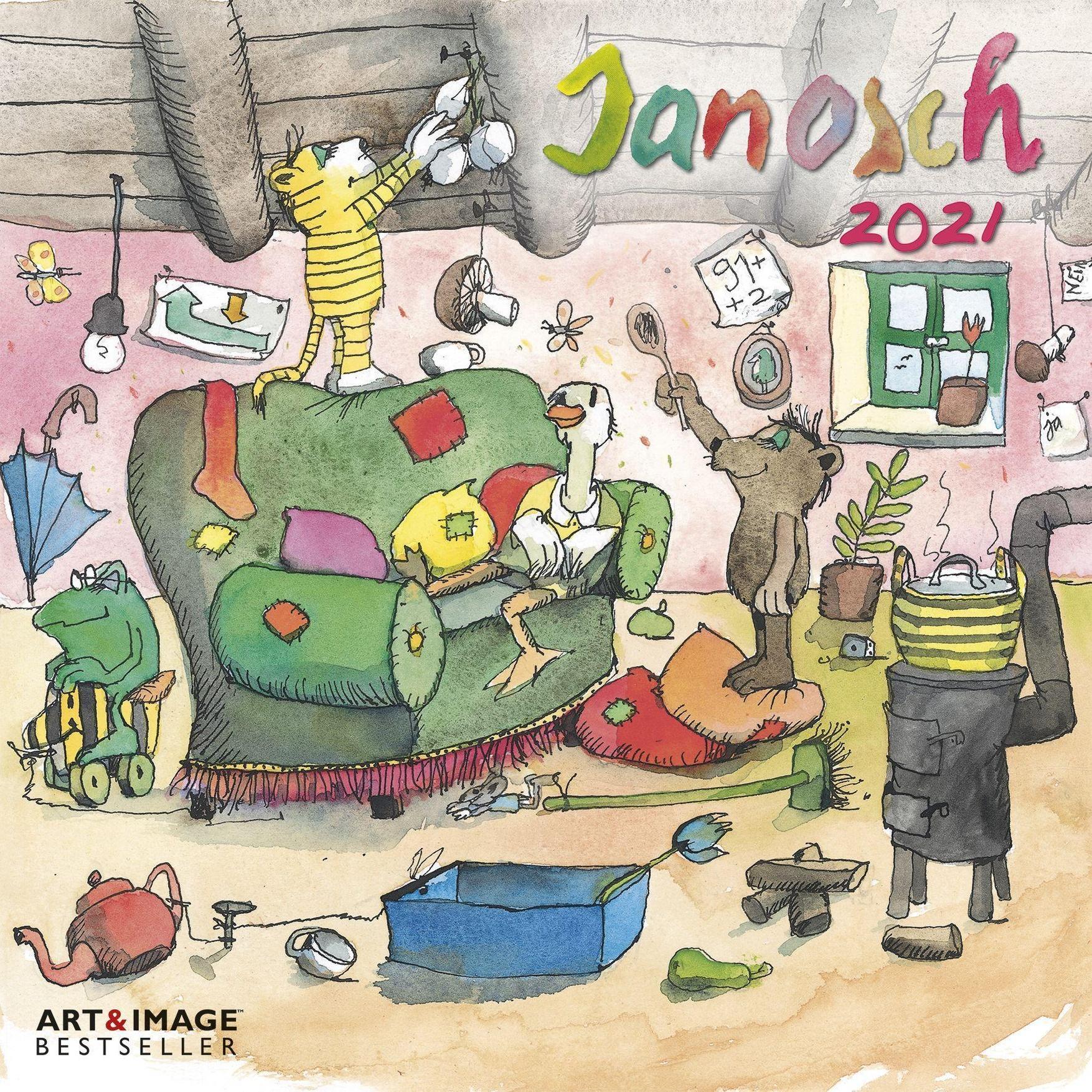 Janosch 2021 Kalender Jetzt Gunstig Bei Weltbild At Bestellen