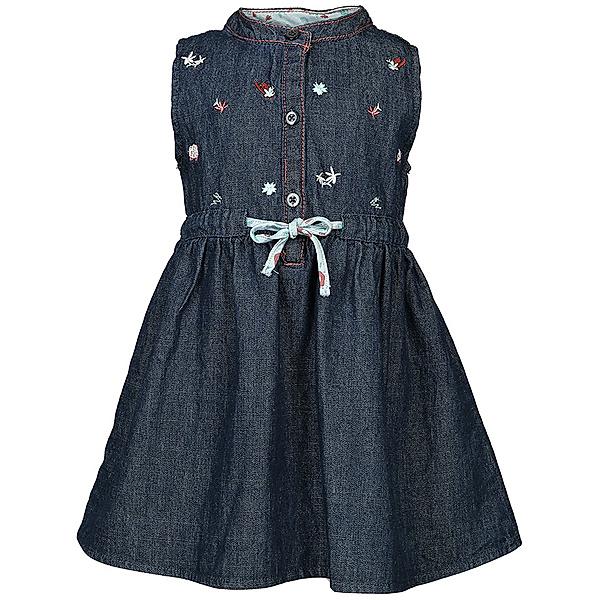 Jeans Kleid Floral Embroidery In Denim Bestellen Tausendkind De
