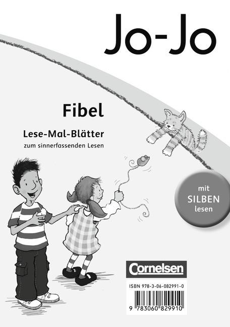 Lesemalblätter Stück BAUSTEINE Fibel