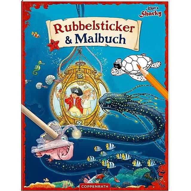 Käpt'n Sharky - Rubbelsticker & Malbuch Buch - Weltbild De