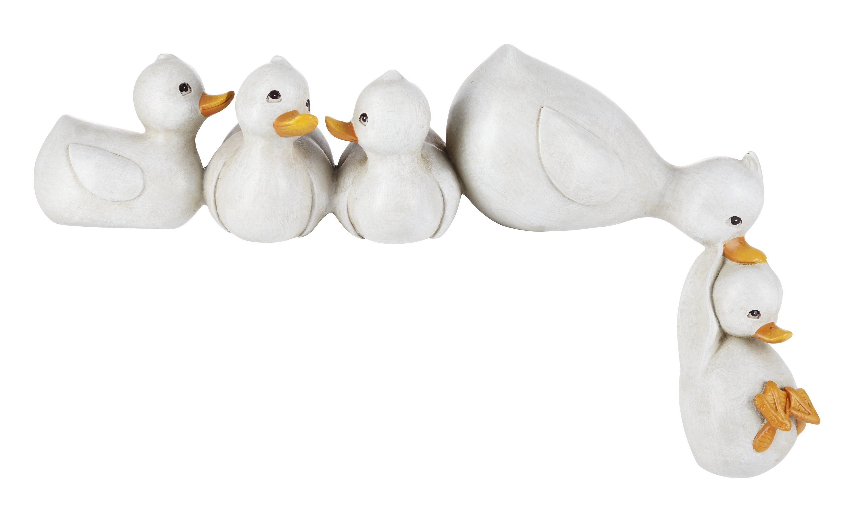 Große Ente aus Hibiskus Holz SKULPTUR DEKORATION