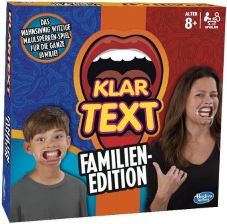 Klartext Spiel Familien Edition