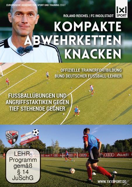 Image of Kompakte Abwehrketten knacken - Fußballübungen und Angriffstaktiken gegen tief stehende Gegner