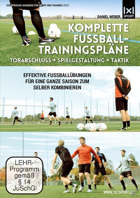 Image of Komplette Fußball - Trainingspläne - Torabschluß + Spielgestaltung + Taktik