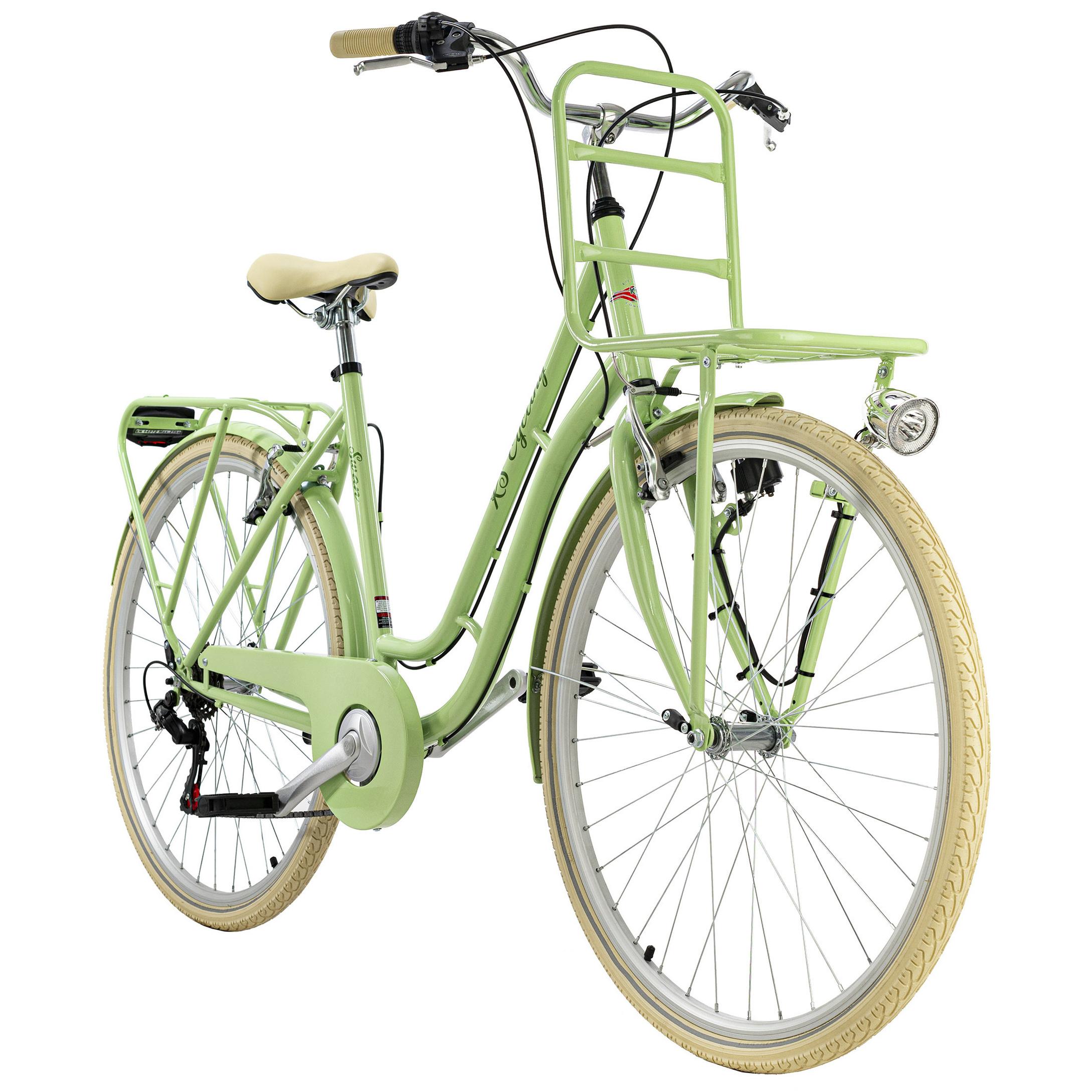 ks cycling cityrad 28 zoll swan 6-gänge (farbe: grün)