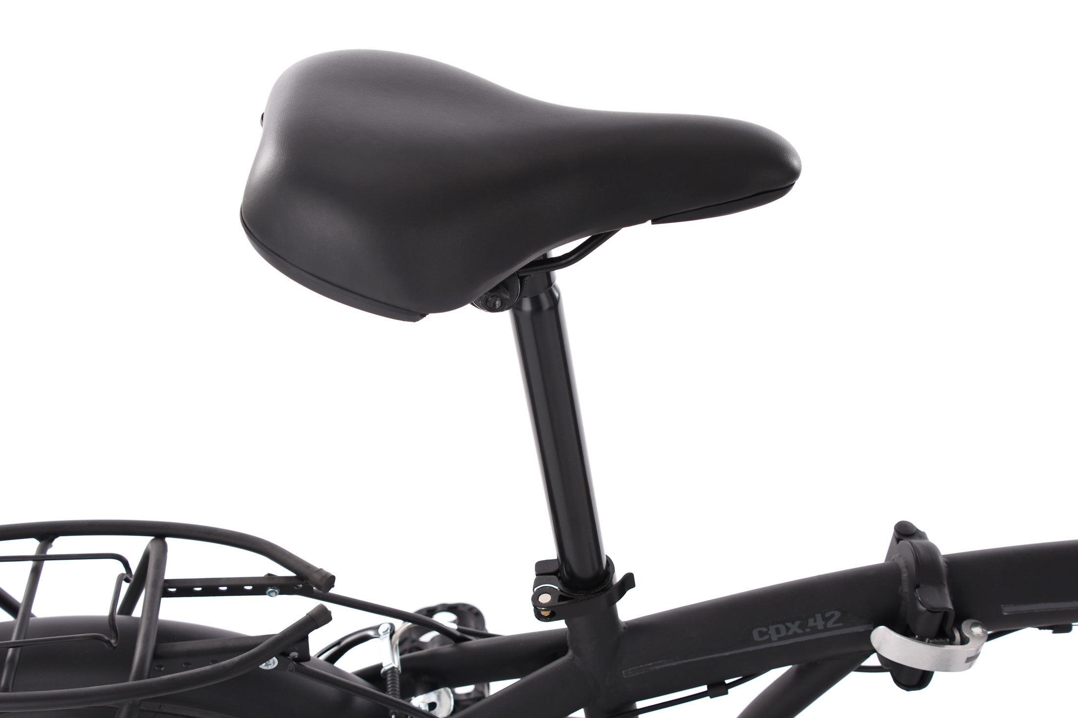 KS Cycling Faltrad Cityfold Fahrrad 20 KSCA5|#KS Cycling 134C schwarz