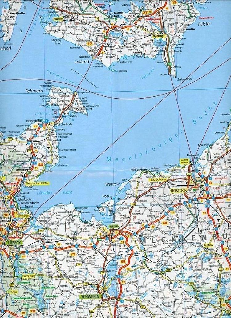 Kummerly Frey Karte Deutschland Nord Germany North Jetzt Kaufen