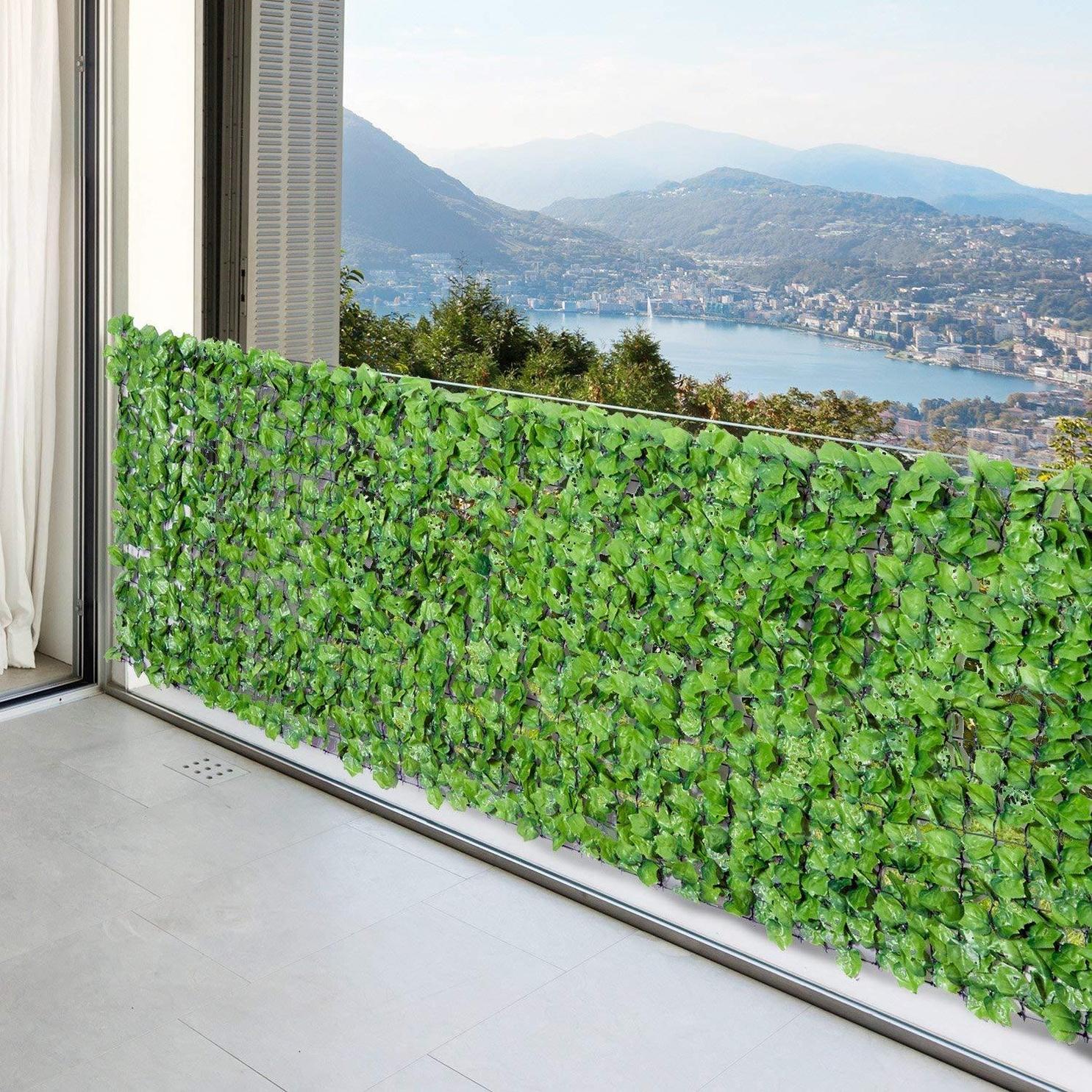 Kunstliche Hecke Sichtschutz Balkonsichtschutz Gunstig Online