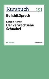 Kursbuch: Der verwachsene Schnabel - eBook - Kerstin Hensel,