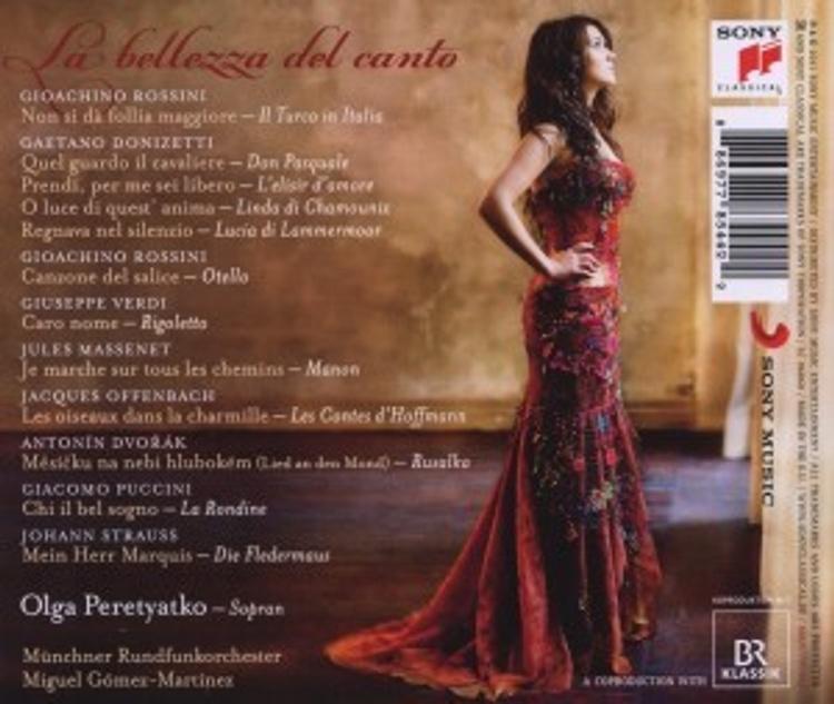 La Bellezza Del Canto Cd Von Olga Peretyatko Bei Weltbild De