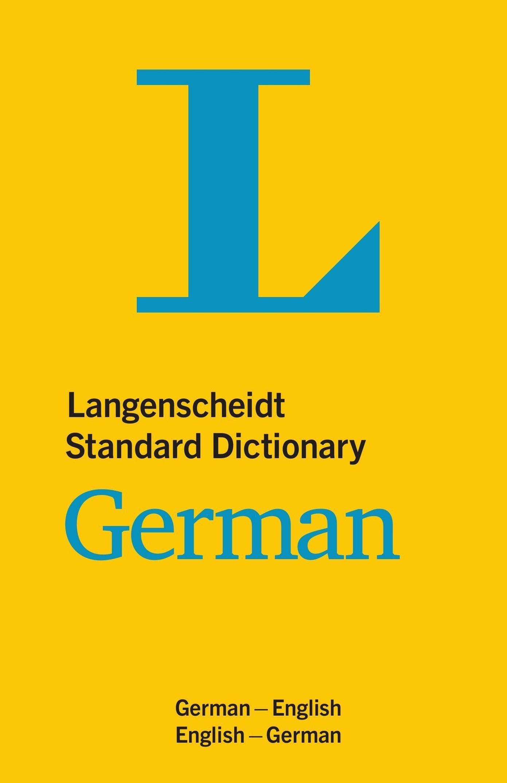Langenscheidt Standard Dictionary German Buch versandkostenfrei ...