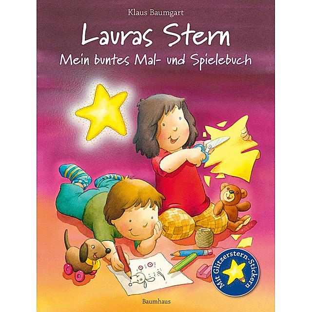 Lauras Stern Mein Buntes Mal Und Spielebuch Buch Versandkostenfrei