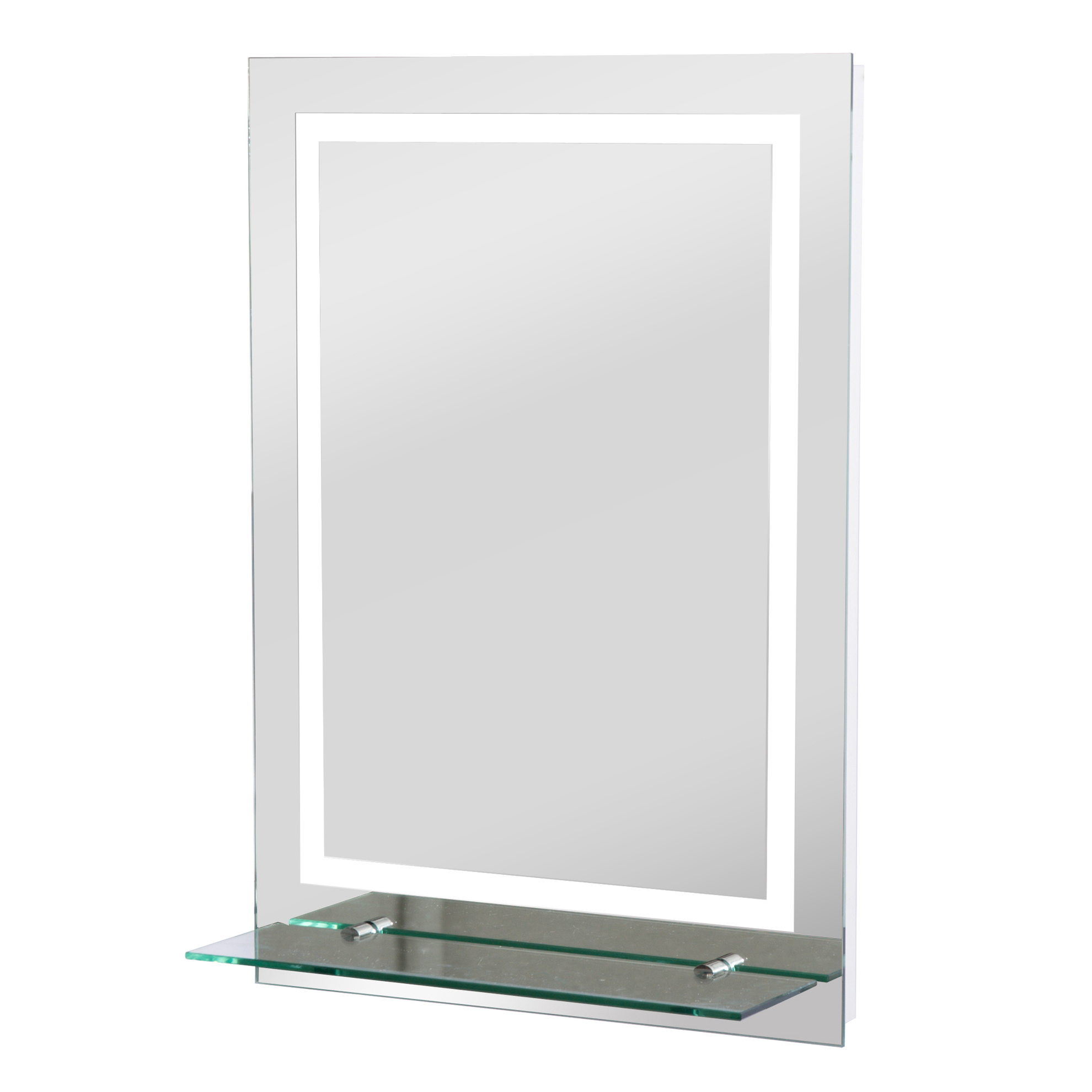 Badezimmerspiegel Ablage.Led Badezimmerspiegel Mit Glas Ablage Bestellen Weltbild De