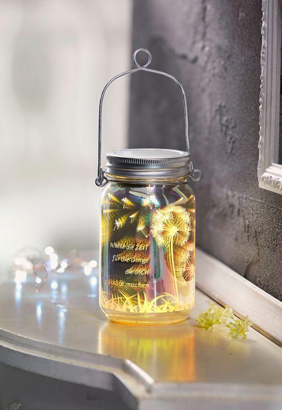 LED Glasleuchte Glücklich jetzt bei Weltbild.at bestellen