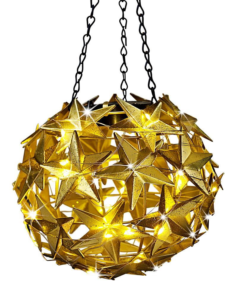 LED Hängedeko Stern, silber jetzt bei Weltbild.at bestellen