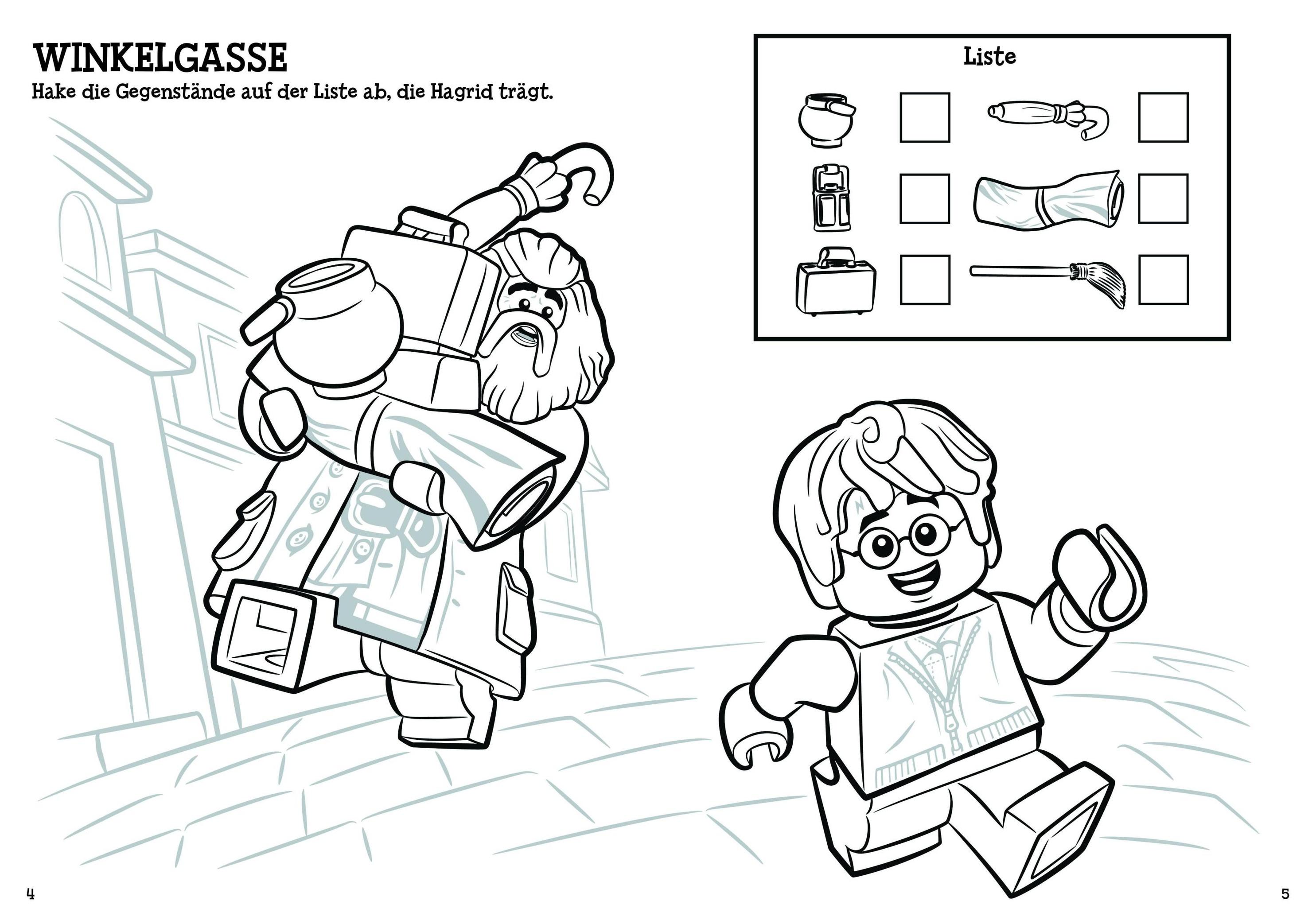 LEGO® Harry Potter TM - Malspaß Buch versandkostenfrei bei