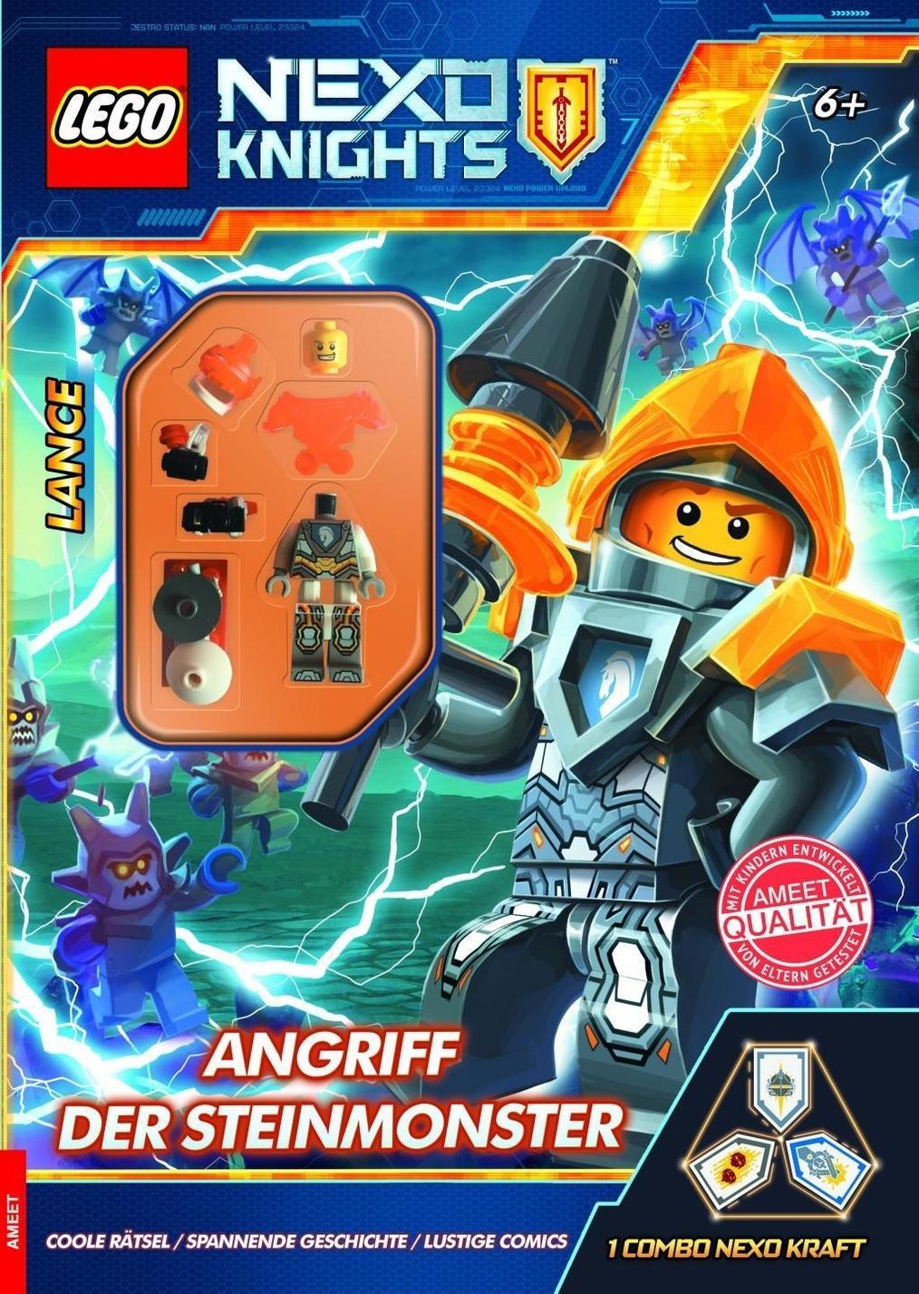 lego® nexo knights  angriff der steinmonster buch jetzt