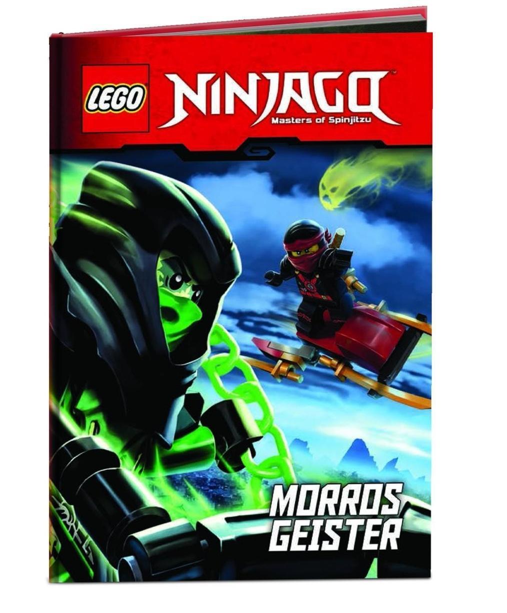 lego ninjago  morros geister buch bei weltbildch bestellen