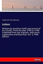 Letters. Jonathan Swift, John Hawkesworth, - Buch - Jonathan Swift, John Hawkesworth,