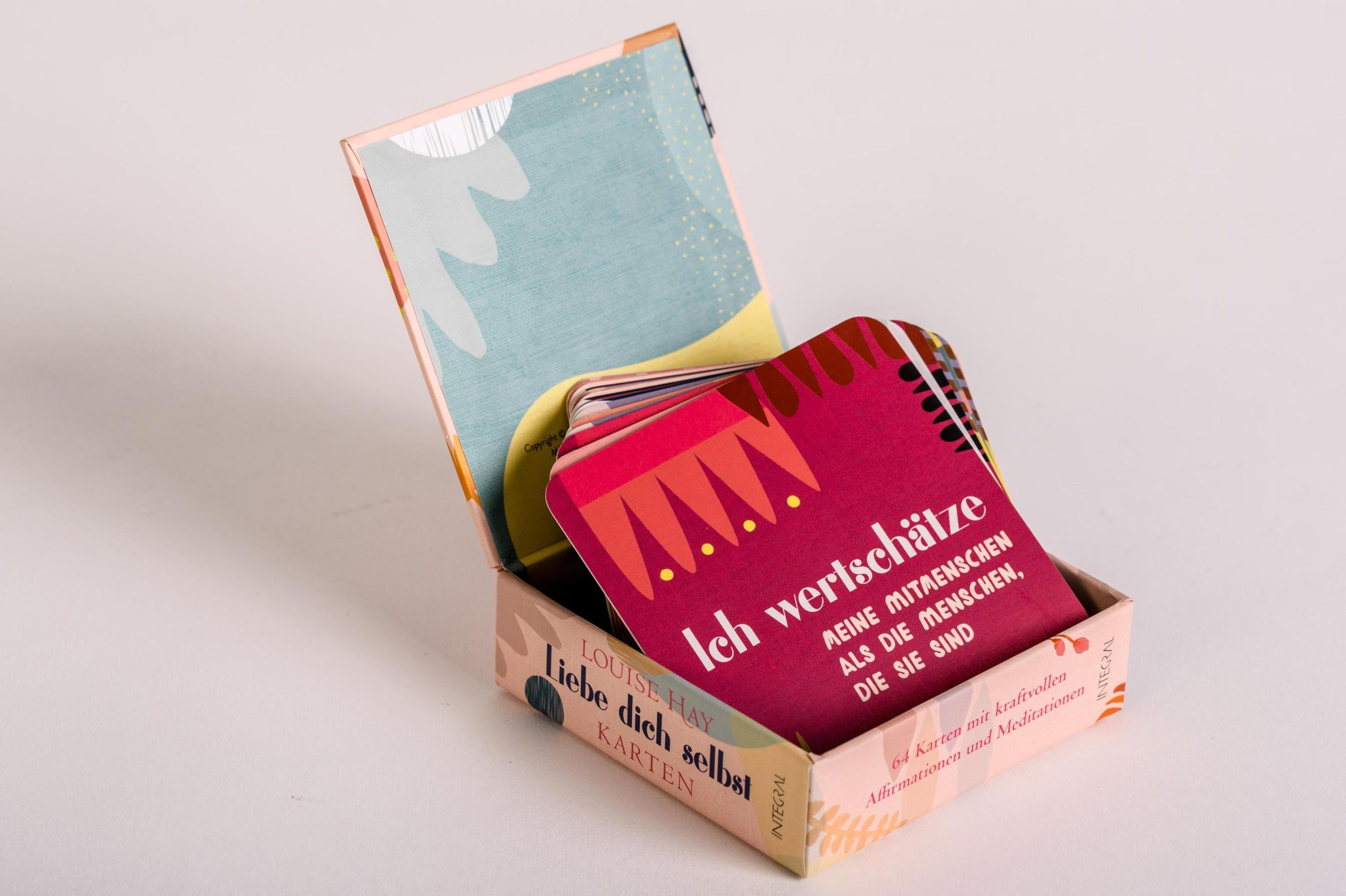 Liebe Dich Selbst Karten 64 Affirmationskarten Buch Versandkostenfrei
