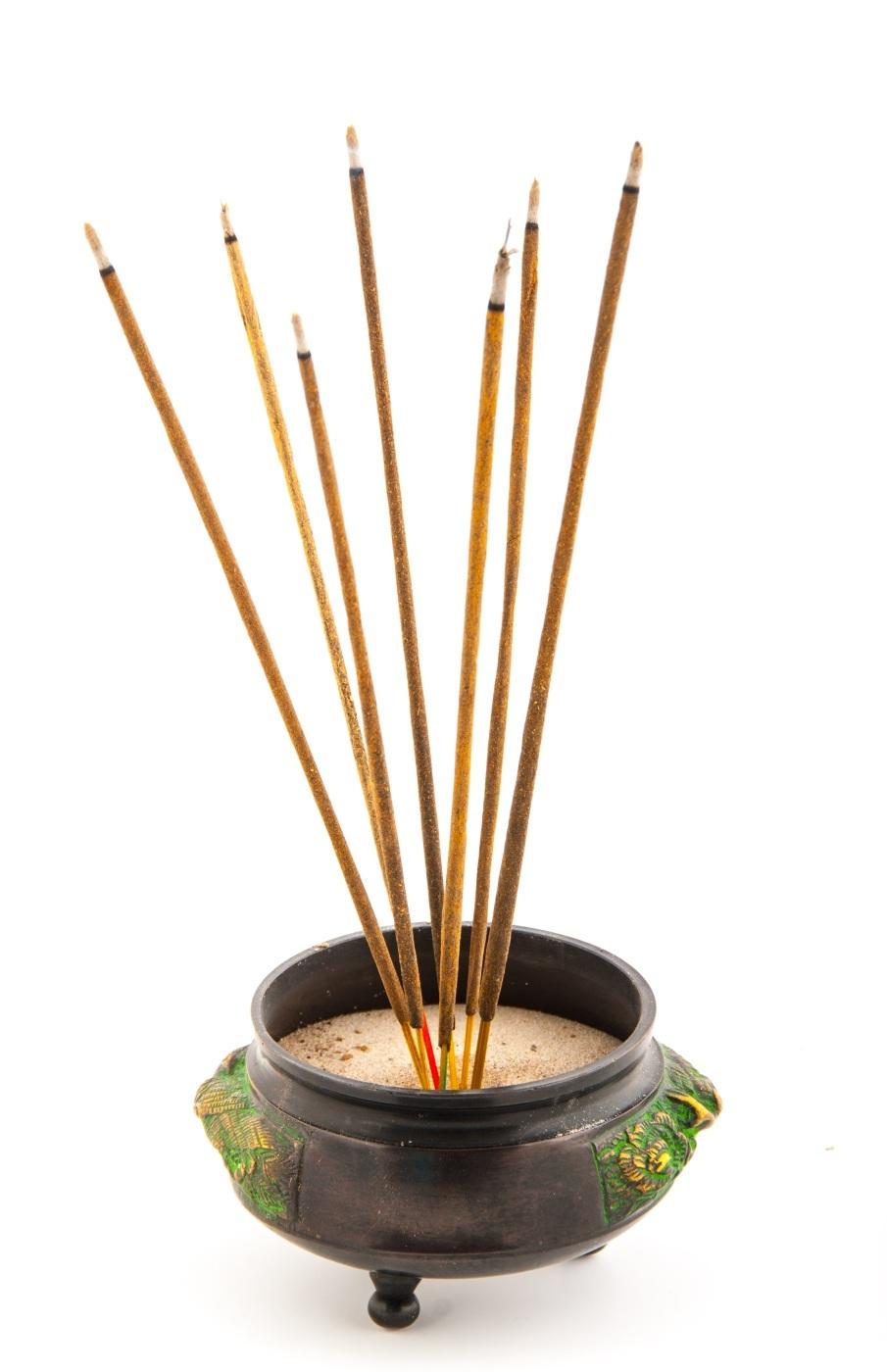 Räucherstäbchen aus Indien Amber Mond 19,50€//100g Blue Line Holy SMokes