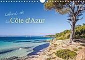 Littoral de la Côte d'Azur (Calendrier mural 2021 DIN A4 horizontal) - Kalender - Michel CAVALIER,
