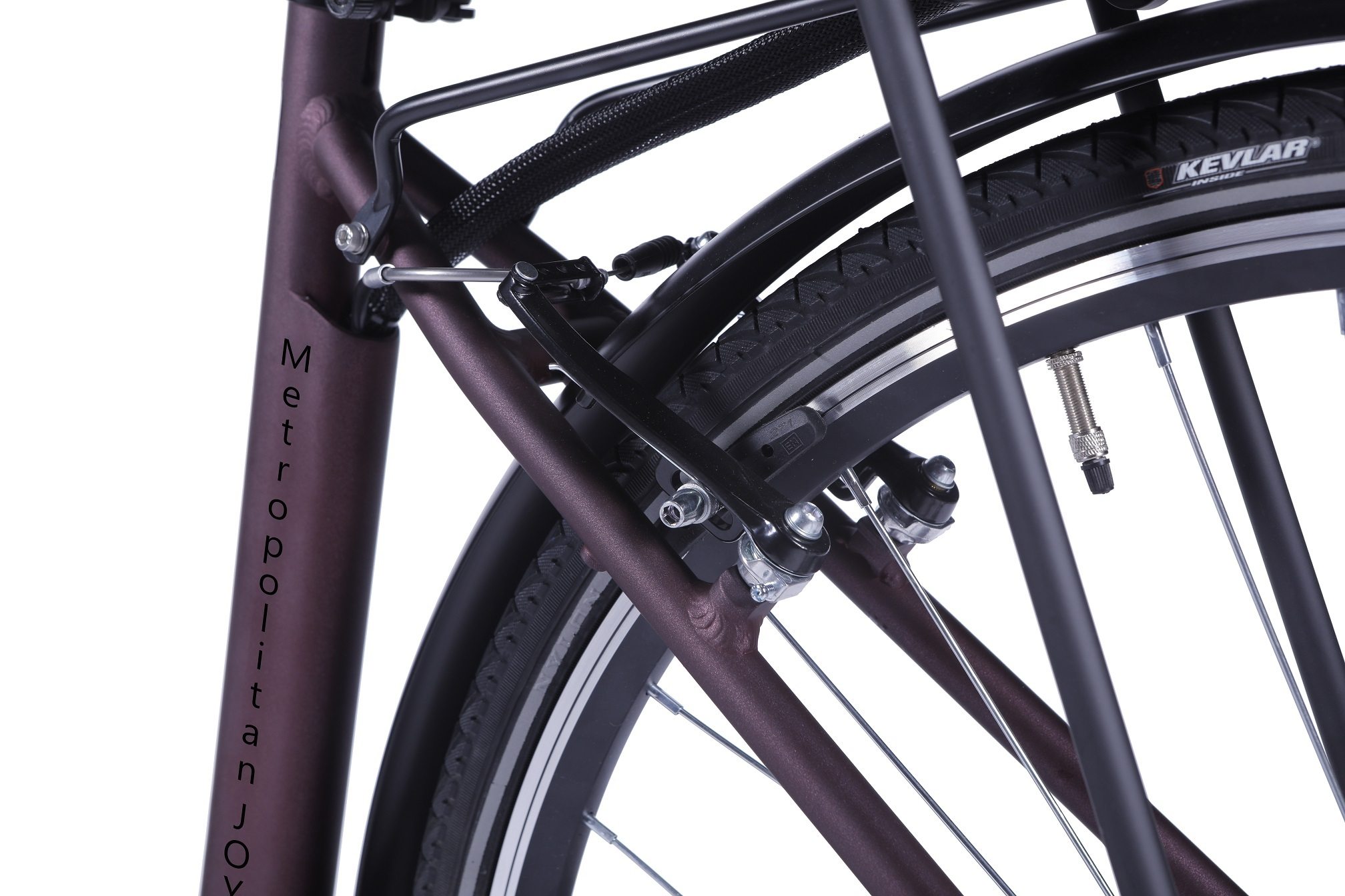 LLobe City E Bike Metropolitan Joy rot (Ah:8 )