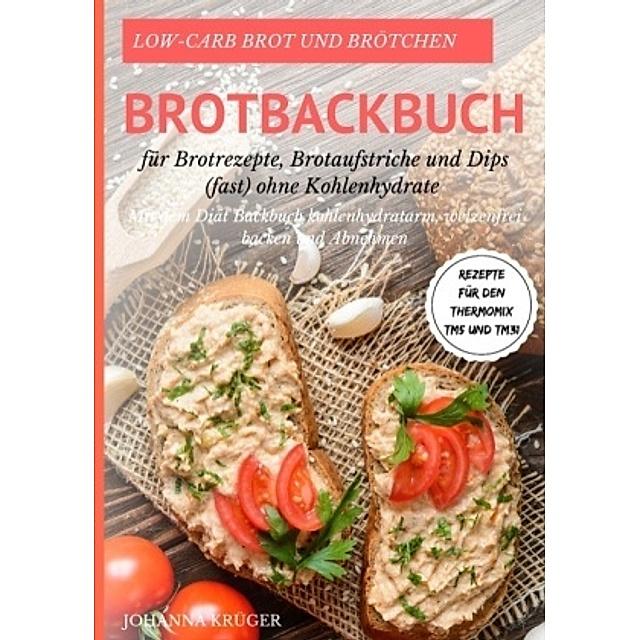 Low Carb Brot Und Brotchen Rezepte Fur Den Thermomix Tm5 Und Tm31