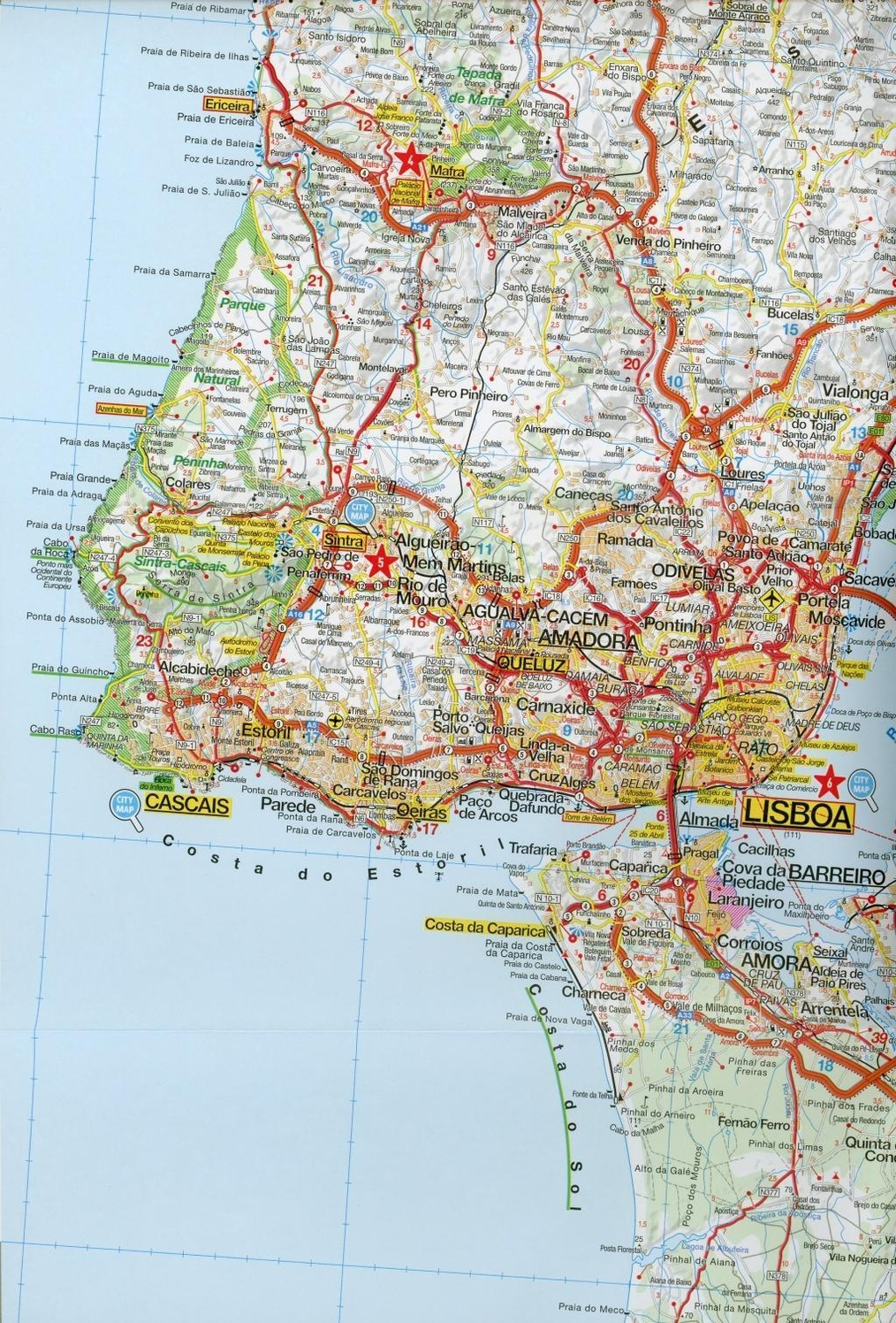 Marco Polo Karte Algarve Portugal Sud 1 200 000 Buch Weltbild Ch