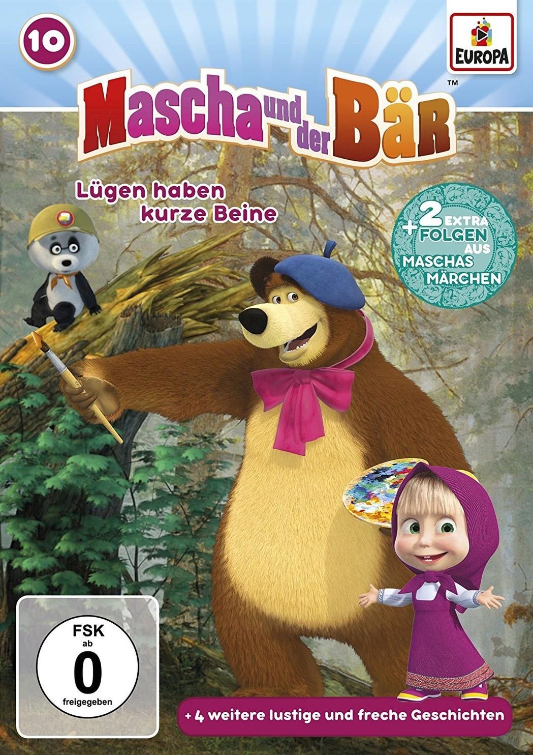 mascha und der bär  lügen haben kurze beine dvd  weltbildat