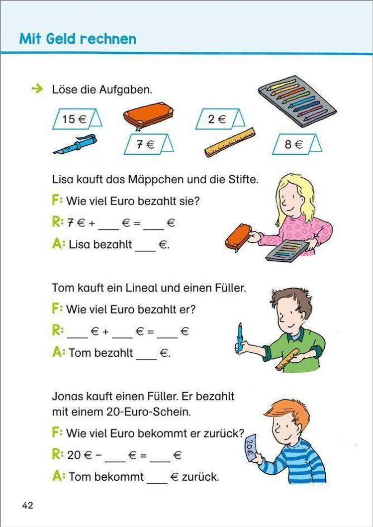 Ultimativ gegenseitig Ritzel erste klasse mathe übungen amazon Ja ...