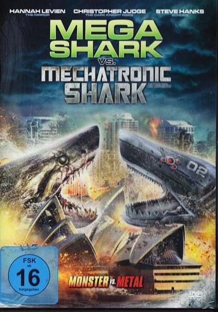 Image of Mega Shark vs. Mechatronic Shark