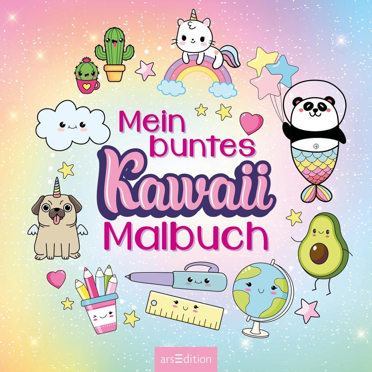 Mein Buntes Kawaii-Malbuch Buch Versandkostenfrei Bei Weltbild De