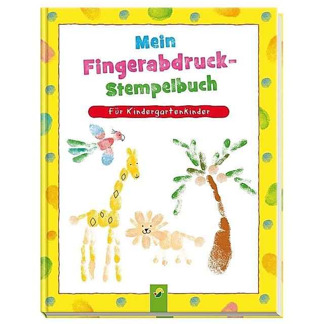 Mein Fingerabdruck Stempelbuch Buch Jetzt Online Bei Weltbild Ch Bestellen