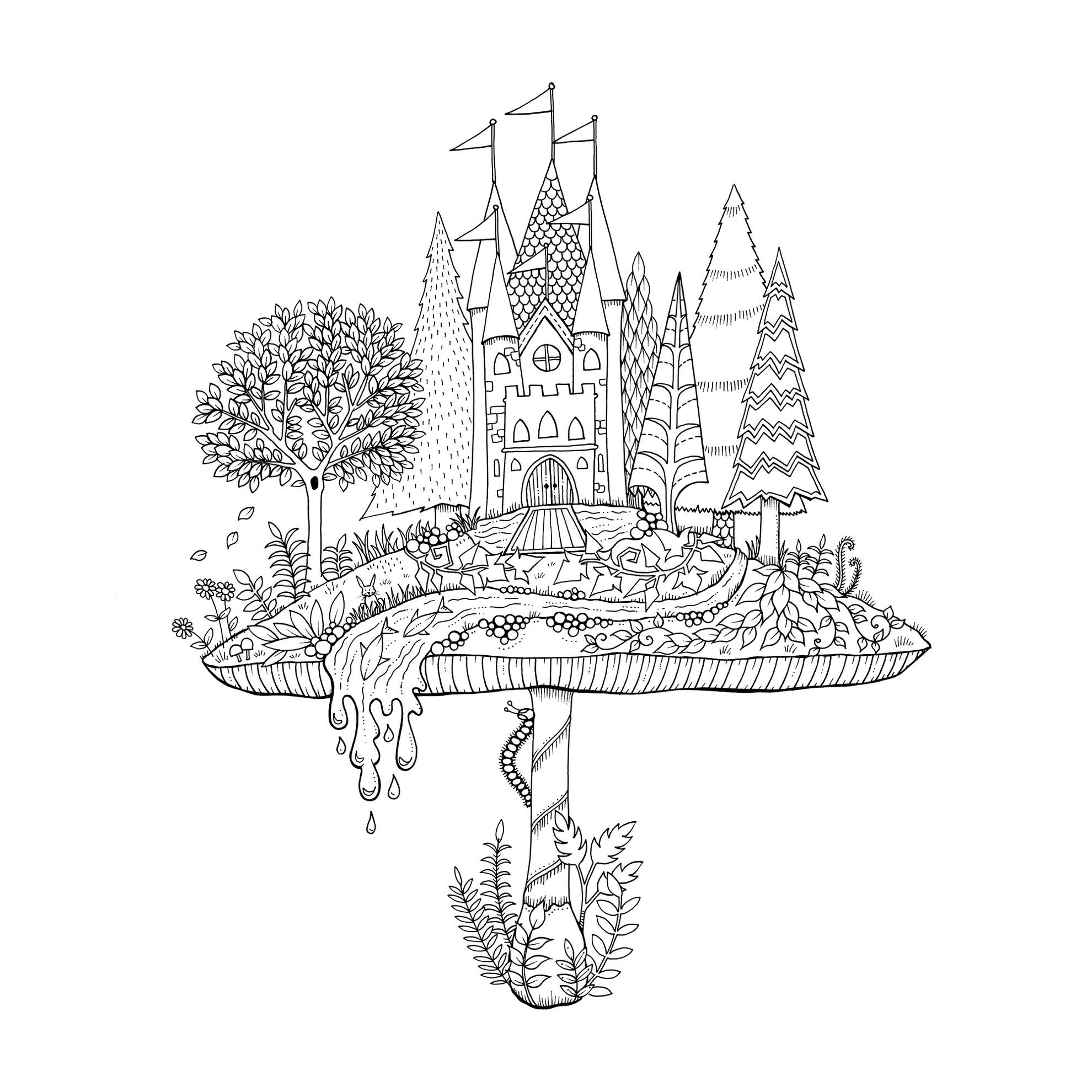 Mein Zauberwald Buch Von Johanna Basford Versandkostenfrei