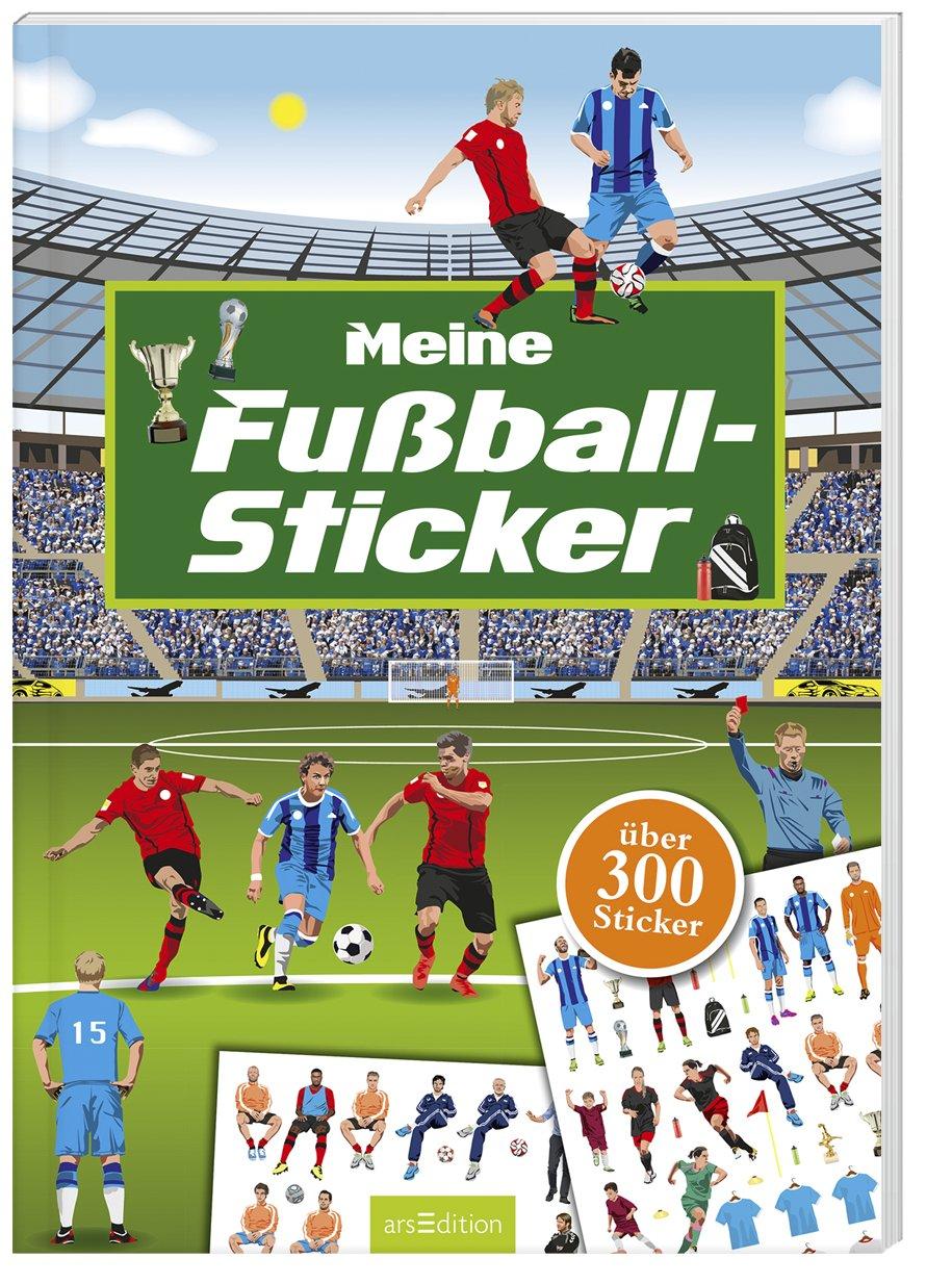Kinder Fu/ßball-Sticker-Set mit FC Barcelona Motiven