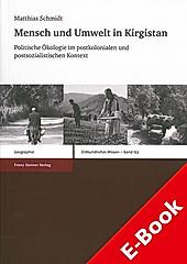 Mensch und Umwelt in Kirgistan - eBook - Matthias Schmidt,