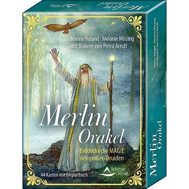 Merlin Orakel 44 Karten Mit Begleitbuch Buch Versandkostenfrei Bestellen